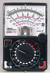 1000V Voltmeter DC//AC 250mA Ammeter 1K Resistance Meter Analog MultimeterToA up