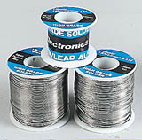 reels of solder, photgraph © Rapid Electronics